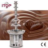 Comercial de acero inoxidable fuente de chocolate (DHC)
