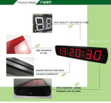 [Ganxin] 4inch se dirigen el reloj de la visualización de LED del reloj de pared de Digitaces de la decoración