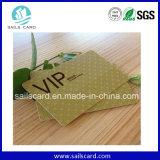 Carte de piste magnétique de PVC VIP de qualité