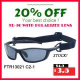 Шток! Самый лучший самый дешевый поляризовыванный спорт удящ солнечные очки с сертификатом Ce