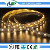 Luz de la cinta de Dimmable de la tira de CRI90+ SMD3528 LED para el uso de interior