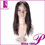 7A Human 100% Full Lace Hair Wig Natural Color