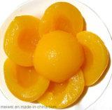 O melhor pêssego enlatado de venda no xarope claro