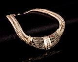 4 PCs Geplaatste Manier Afrikaanse Diamanten bruiloft 18k de Gouden Reeks van Juwelen