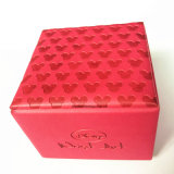 Коробка вахты младенца кожаный с выбитым изготовленный на заказ логосом