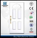 Dekoratives Glas eingeschobene Eingangs-Fiberglas-Tür
