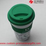 カバーが付いている環境に優しく物質的なプラスチック卸し売りコーヒー・マグ