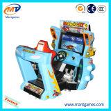 Máquina de juego de arcada del coche de competición del juego video