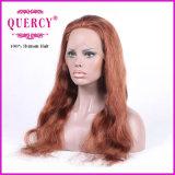 Бразильский парик фронта шнурка для женщин с волосами младенца, волнистый, можно покрасить к более темному цвету