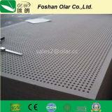 El panel acústico de la tarjeta del techo de la tarjeta del silicato del calcio