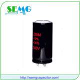 condensador de potencia de aluminio de los condensadores electrolíticos de 5600UF 350V