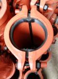 Schelle, Reparatur-Muffe, Einschalungs-Muffe, aufgeteilte Muffe reparieren für Plastikrohrleitung P125X500, Onlineleck-Reparatur