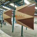 Panneau de revêtement en aluminium personnalisé par panneau décoratif de façade