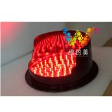 Neue Signal-Ampel des Rot-LED der Lampen-200mm LED