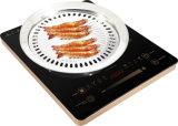 2000W Kooktoestel van de Inductie van de Controle van de knop en van de Controle van de Aanraking het Elektrische versus Infrarood Kooktoestel