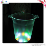 LED Ice 또는 Wine Bucket, LED Lights와 더불어 Plastic Material의 Made,
