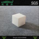 Tamborete do cubo da mobília da barra do diodo emissor de luz