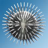 부족하게 구성된 알루미늄 Pin 탄미익 열 싱크, 위조된 탄미익 열 싱크, 열 싱크를 점화하는 LED 열 싱크