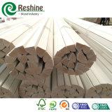 Bâti rond quart amorcé décoratif en bois plein