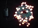 Fornecedores ao ar livre da decoração do Natal da luz da corda da esfera do diodo emissor de luz