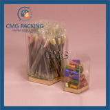 Caixa de embalagem transparente dos doces do projeto extravagante (CMG-PVC-016)