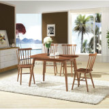 レストランの喫茶店(HW-018C)のための椅子を食事する現代純木