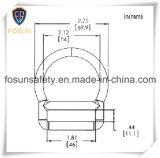 Clips D en métal d'accessoires de harnais de sûreté (H214D)