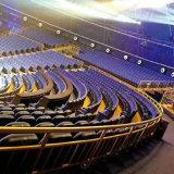 El asiento del auditorio del asiento del auditorio, asiento plástico del auditorio del asiento del auditorio, sillas de la sala de conferencias, aparta la silla del auditorio (R-6145)