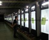 セリウムとのSupermarketのためのガラスDoor Display Refrigerator