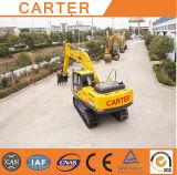 Escavatore resistente multifunzionale caldo del cingolo di ingegneria comunale di vendite CT360-8c