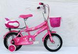 جميلة لون قرنفل وأبيض بنت أطفال درّاجة طفلة درّاجة