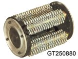 76PCS 111280カッターと92PCSワッシャと7.5キロワットの380V * 3相/ 60Hzの電気モーター、GT250のドラムと表面剥離機機KL-250GT