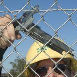anillo del cerdo de 15g100 Galfan para el caso, alambre de la cerca, lecho