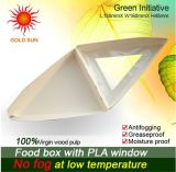 Rectángulo del alimento fresco (W170) con la pulpa de madera del 100%