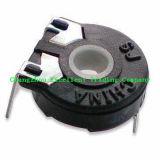 Potentiomètre rotatoire avec la pièce jointe Poussière-Résistante