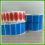 Etiket van de Verbinding van de Garantie van de douane het Zelfklevende; Nietig Etiket; De Duidelijke Nietige Sticker van de stamper