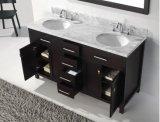 Твердый деревянный шкаф тщеты ванной комнаты