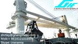 Палубный судовой кран 25t 35t жесткого заграждения морской