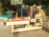 Extrusora de doble tornillo Compuesto / Color Masterbatch Extrusora / EVA granulación de la máquina