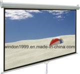 """schermo di proiezione manuale 70 """" X70 """" con il sistema della Automatico-Serratura, schermo di proiezione della Cina"""