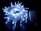 Décoration de lumière de rideau en chaîne de caractères de vacances de DEL