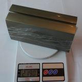 Le balustre en aluminium de profilé en u et la pêche à la traîne en verre d'escalier conçoit (HR1300W-3)