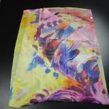 Women를 위한 Habotai Long Silk Scarf