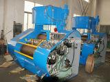 O moinho de rolo triplo hidráulico com refrigerar de água para a tinta, pasta da tira, conduz