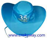 Cowboy di nylon Pop in su Sun Hat di Snap
