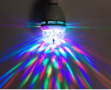 Lâmpada giratória de disco RGB de 3W RGB para barras de discoteca