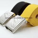 Courroie faite sur commande de tissu de sangle de coton de mode pour les hommes ou des femmes