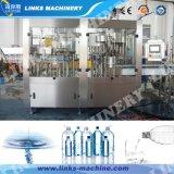 Acqua minerale automatica che risciacqua riempimento ricoprendo 3 in 1 macchinario
