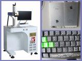 Машина маркировки лазера клавиатуры мобильного телефона высокого качества