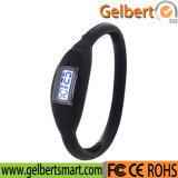 Nuevo reloj del deporte de Digitaces del tacto del silicón LED de Gelbert